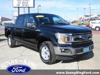 CARFAX One-Owner. Clean CARFAX. Black 2018 Ford F-150