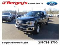 Shadow Black 2018 Ford F-150 XLT 4WD 6-Speed Automatic