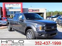 2018 FORD F150 CREW CAB SPORT WITH ONLY 76 MILES! MSRP