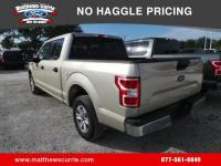 This 2018 Ford F-150 XLT in White Gold features:NEW