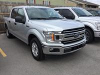 Recent Arrival! Ford F-150 XLT Silver RWD   Don't miss