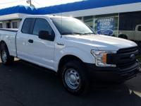 CARFAX One-Owner. 2018 Ford F-150 XL White 3.3L V6  NON