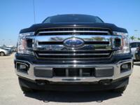 Options:  2018 Ford F-150 Xlt|Shadow Black/Medium Earth