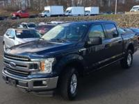 CARFAX One-Owner. Clean CARFAX. Blue 2018 Ford F-150