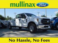 $3,074 off MSRP! Oxford White 2018 Ford F-250SD XL V8