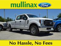 Oxford White 2018 Ford F-250SD XL V8 At Mullinax Ford