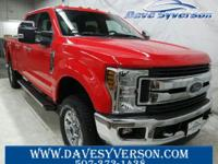 Race+Red+2018+Ford+F-250SD+XLT+4WD+6-Speed+Automatic+V8