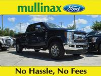 $4,427 off MSRP! Blue 2018 Ford F-250SD XLT Power