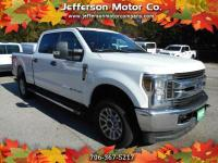 This 2018 Ford F-250 XLT Crewcab 4X4 is ready for work!