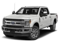 Recent Arrival! Clean CARFAX.White 2018 Ford F-250SD 4D