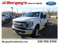 Oxford White 2018 Ford F-250SD 4WD 6-Speed Automatic
