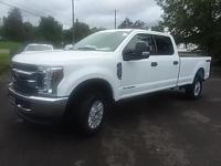 Options:  2018 Ford F-250Sd|White|Carfax One-Owner.