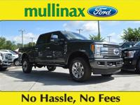 $5,502 off MSRP! Magnetic 2018 Ford F-350SD Platinum