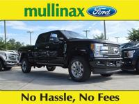 $5,502 off MSRP! Shadow Black 2018 Ford F-350SD