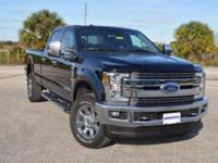 This low mileage, one owner Ford F350 Lariat CrewCab