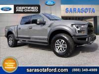 RAPTOR! LEAD FOOT COLOR! LUXURY PACKAGE! TECHNOLOGY