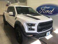 New Price! 2018 Ford F-150 Raptor Oxford White ONE