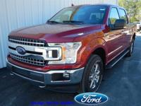 This Ford F-150 has a powerful Regular Unleaded V-8 5.0