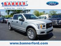 Ingot Silver 2018 Ford F-150 XL 4WD 10-Speed EcoBoost