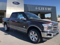 Magma Red 2018 Ford F-150 King Ranch 4WD 10-Speed