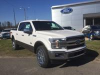 White 2018 Ford F-150 King Ranch 4WD 10-Speed EcoBoost