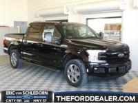 Shadow Black 2018 Ford F-150 Lariat 4WD 10-Speed 5.0L