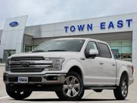 2018 Ford F-150 Lariat 4WD. Town East Ford uses a 3rd