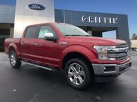 Ruby Red 2018 Ford F-150 Lariat 4WD 10-Speed 5.0L V8