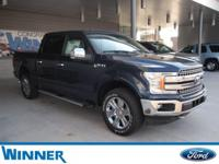 Blue Jeans Metallic 2018 Ford F-150 Lariat 4WD 10-Speed