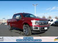 This 2018 Ford F-150 Lariat 4WD SuperCrew 5.5' Box is