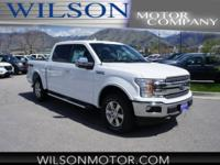 Oxford White 2018 Ford F-150 Lariat 4WD 10-Speed