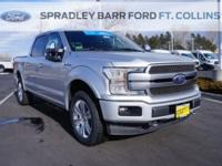 New Price! Ingot Silver 2018 Ford F-150 Platinum 4WD