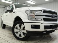 2018 Ford F-150 Platinum 4x4 EcoBoost 3.5L Twin