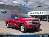 Ruby Red Metallic Tinted Clearcoat 2018 Ford F-150
