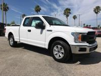 2018 Ford F-150 Oxford White XL RWD 10-Speed EcoBoost