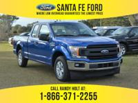 *2018 Ford F150 XL - *Super Cab Pickup - V6 2.7L Engine