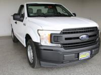 2018 Ford F-150 XL Oxford White 2D Standard Cab