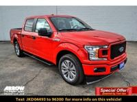 New Price! Race Red 2018 Ford F-150 XL RWD 10-Speed