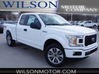 Oxford White 2018 Ford F-150 XL 4WD 10-Speed EcoBoost