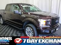 **BACKUP CAMERA, BLUETOOTH, STEP BARS** 2018 F-150 XL