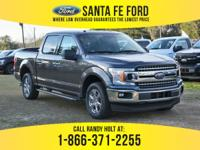 *2018 Ford F150 XLT *- Crew Cab Pickup - V6 3.5L Engine