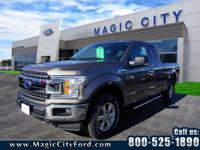 This 2018 Ford F-150 is complete with top-features such