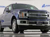 Priced below KBB Fair Purchase Price! Blue 2018 Ford