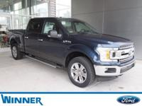 Blue Jeans Metallic 2018 Ford F-150 XLT 4WD 10-Speed
