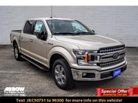 New Price! White / Gold 2018 Ford F-150 XLT RWD