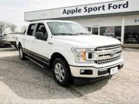 Oxford White 2018 Ford F-150 XLT RWD 10-Speed EcoBoost