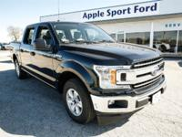 Shadow Black 2018 Ford F-150 XLT RWD 10-Speed V6