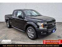 Shadow Black 2018 Ford F-150 XLT RWD 10-Speed EcoBoost