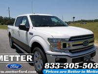 Oxford White 2018 Ford F-150 XLT 4WD 10-Speed EcoBoost