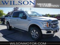 Ingot Silver 2018 Ford F-150 XLT 4WD 10-Speed EcoBoost